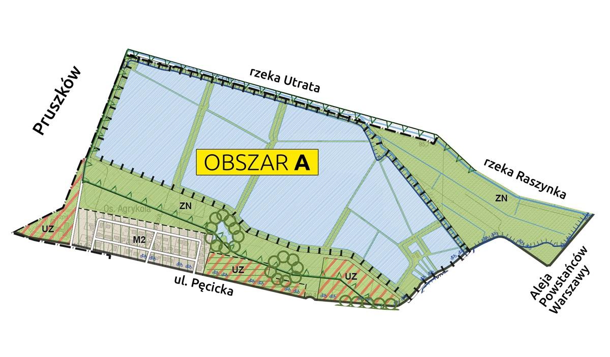 Mapa obaszu A