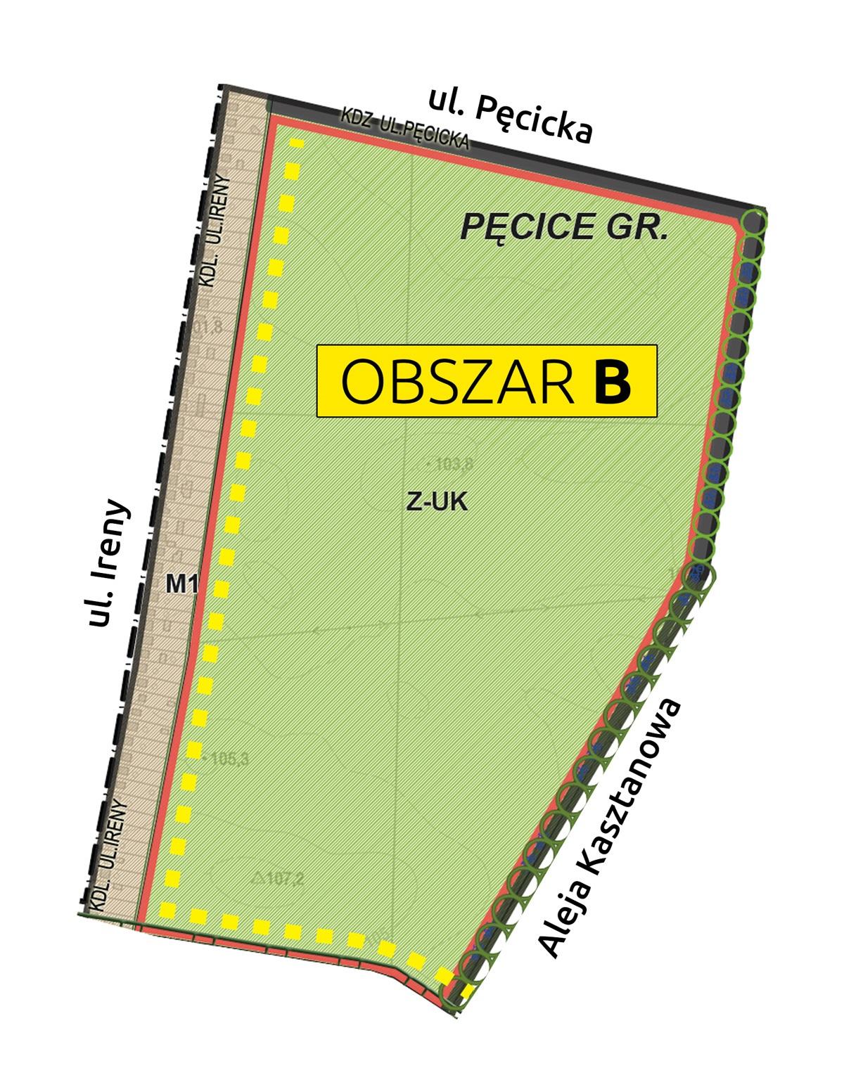 Maopa obszaru B