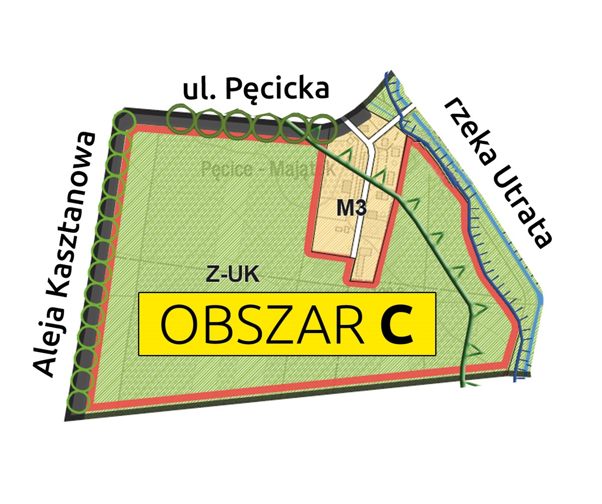 Mapa Obszar C