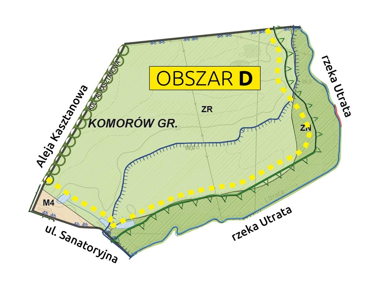 Mapa Obszar 4