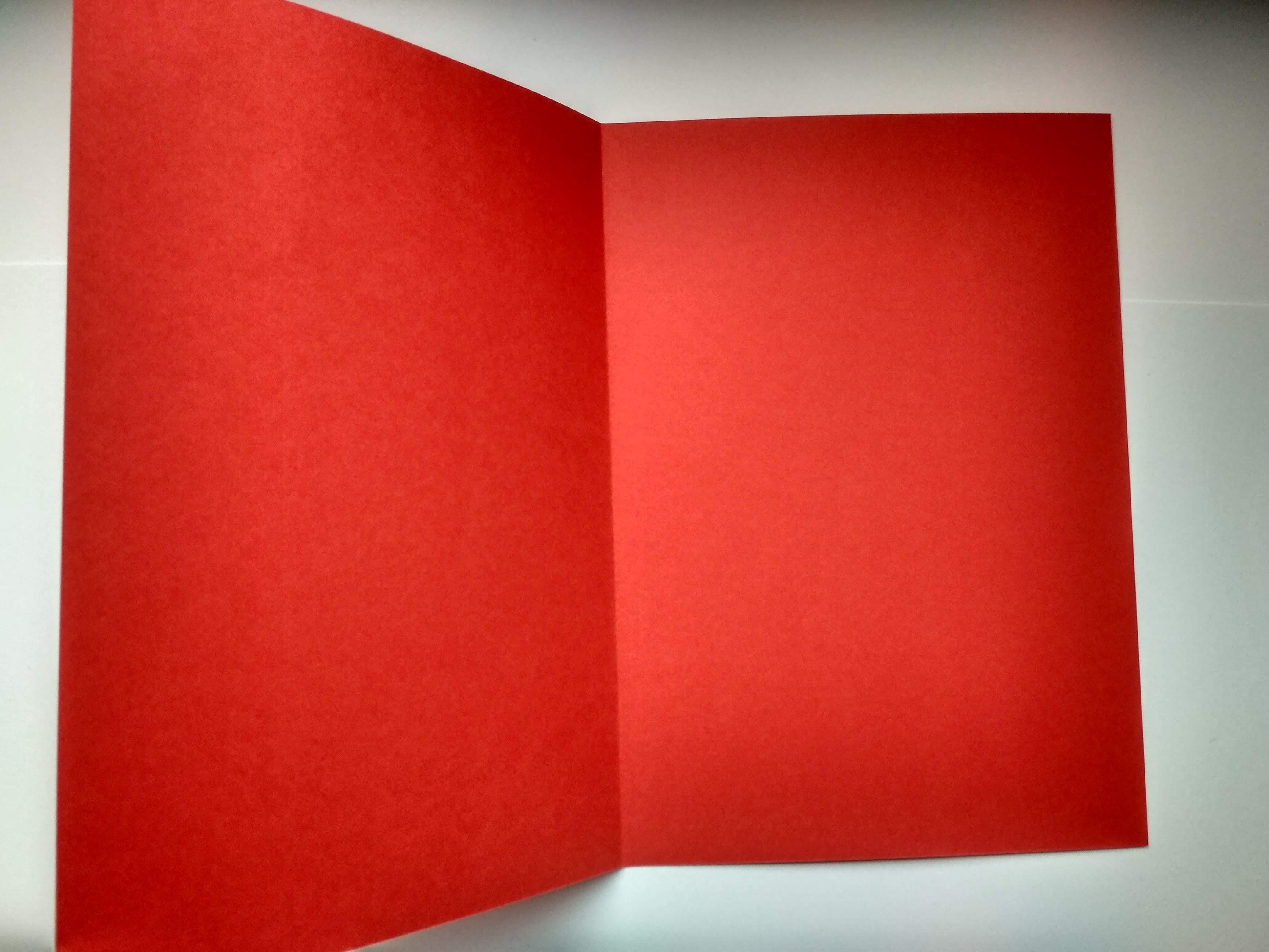 Kartka winnym kolorze